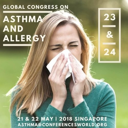 Global Congress on Asthma and Allergy at Singapore|Sai Eye Allergy Asthma Hospital| Pune -Satara Rd,Pune